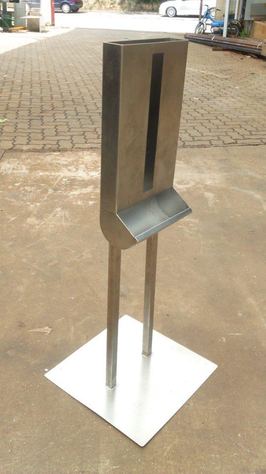 Dispensador tubos silicone